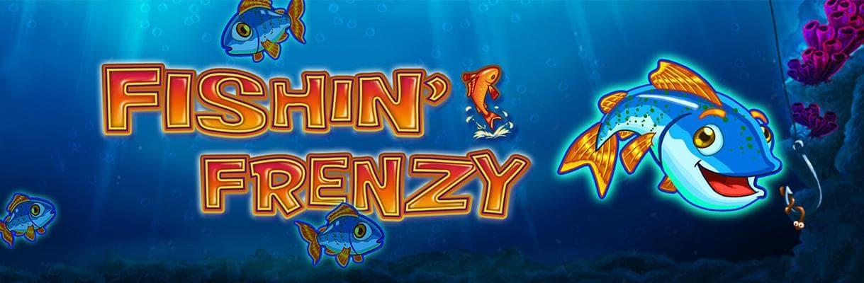 fishin frenzy merkur slot banner