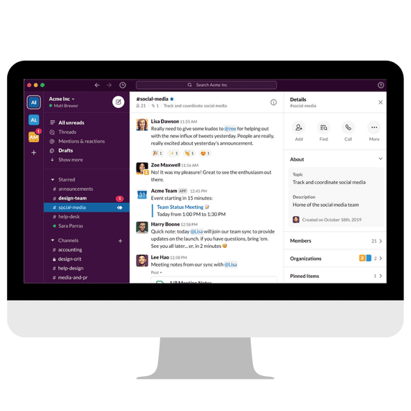Create Slack Channels For Projects