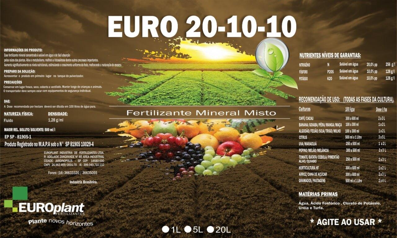 Produto Euro 20-10-10