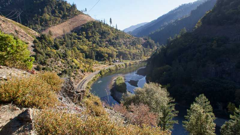 A view of the North Fork of the Feather River