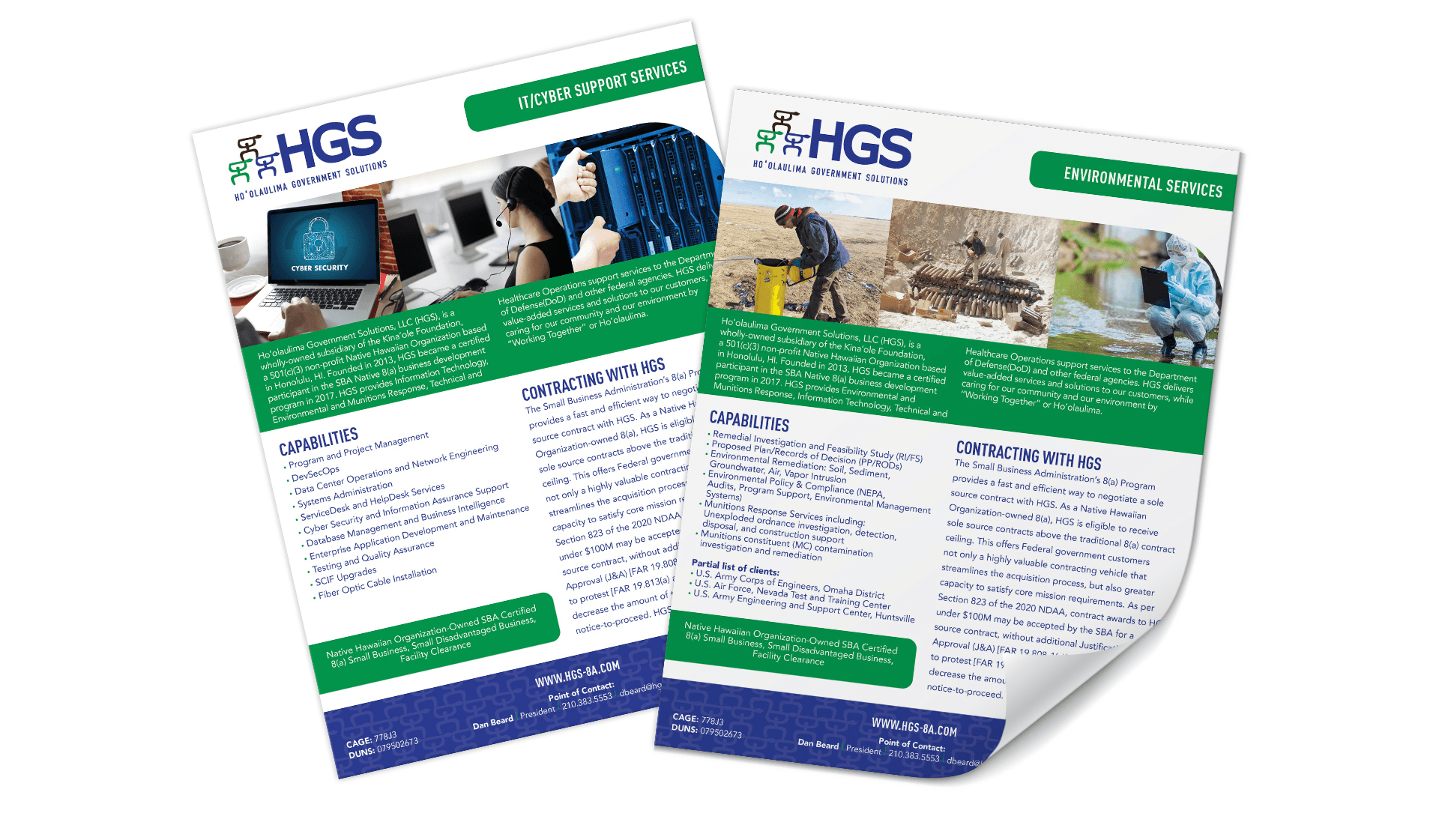 HGS One-Sheets
