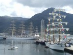 Tall Ships at Maloy  » Click to zoom ->