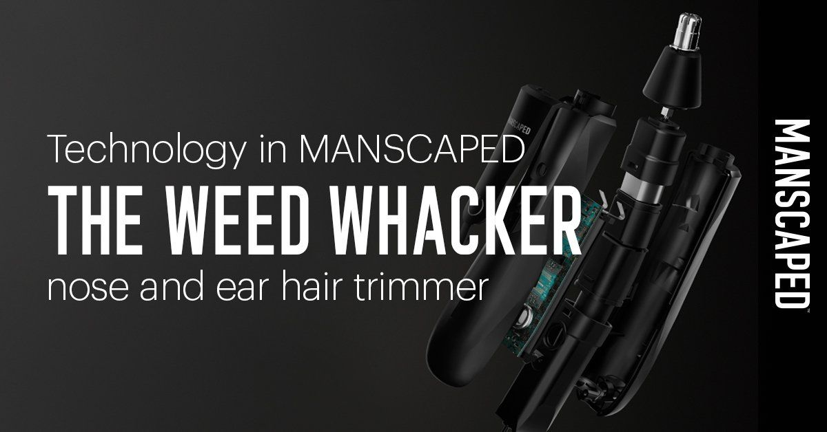 Technology in MANSCAPED The Weed Whacker Trimmer