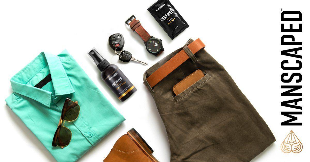 man bag essentials