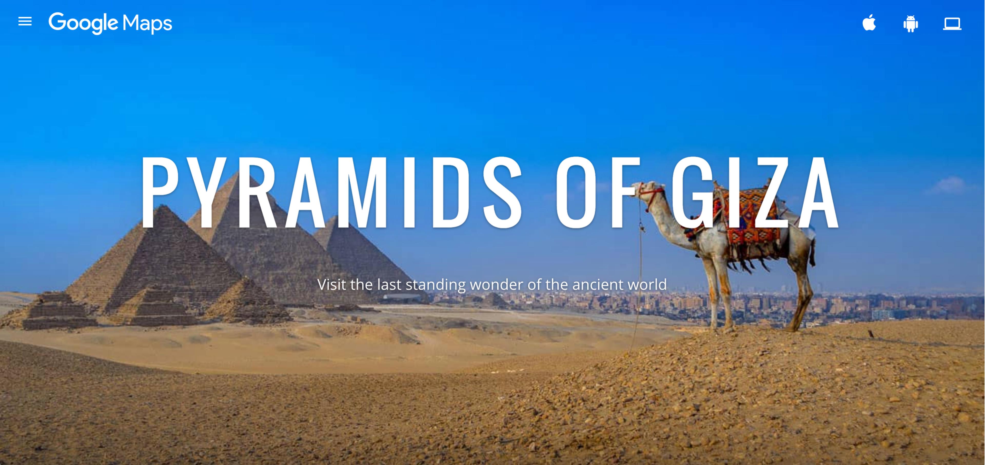 Pyramids of Giza screengrab