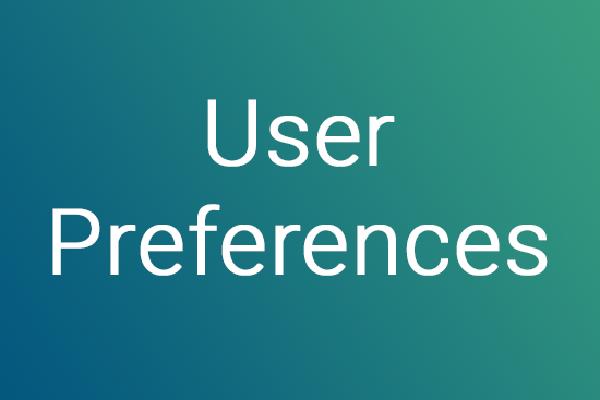 kaleidoscope user settings