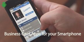 Business Card Apps for Your Smartphone