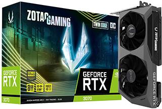 ZOTAC GAMING Twin Edge GeForce RTX 3070
