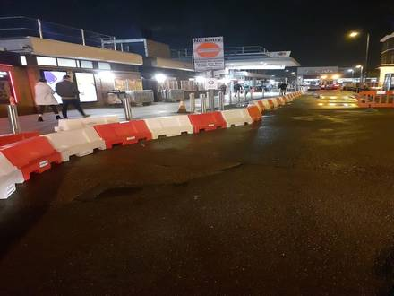 Pedestrian Barriers, Chapter 8 & Evo 55 Barriers at Railway Station