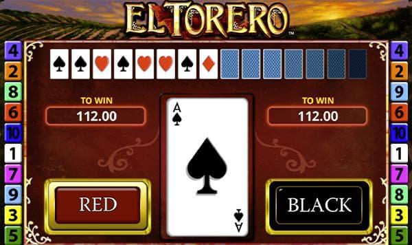 el torero merkur slot kartenrisiko screenshot