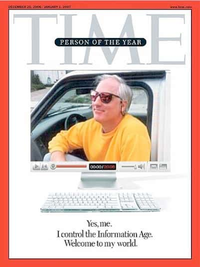 Greg Raven -- Time magazine Person of the Year