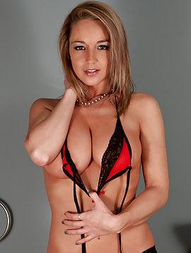 Red Sheer Panties