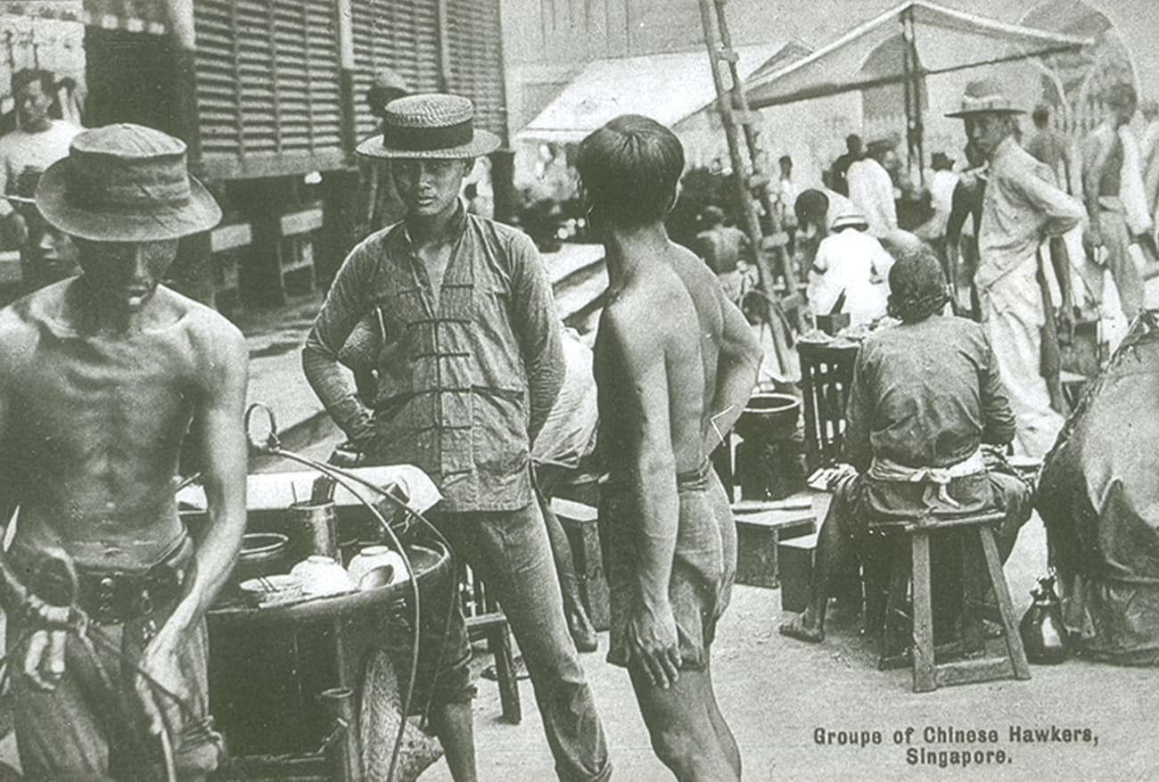 Street hawkers, 1910s