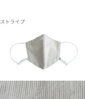 表側オーガニックコットン(綿100%) ストライプ