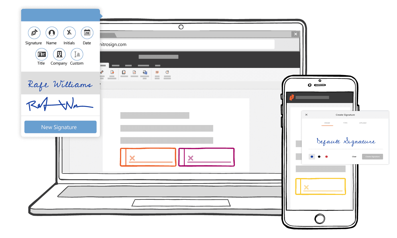 Unlimited eSignatures in any workflow