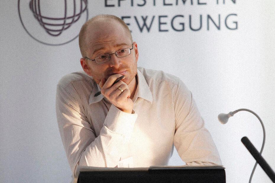Специалист по теории мировой литературы из Свободного университета Берлина Питер Лёфельбайн