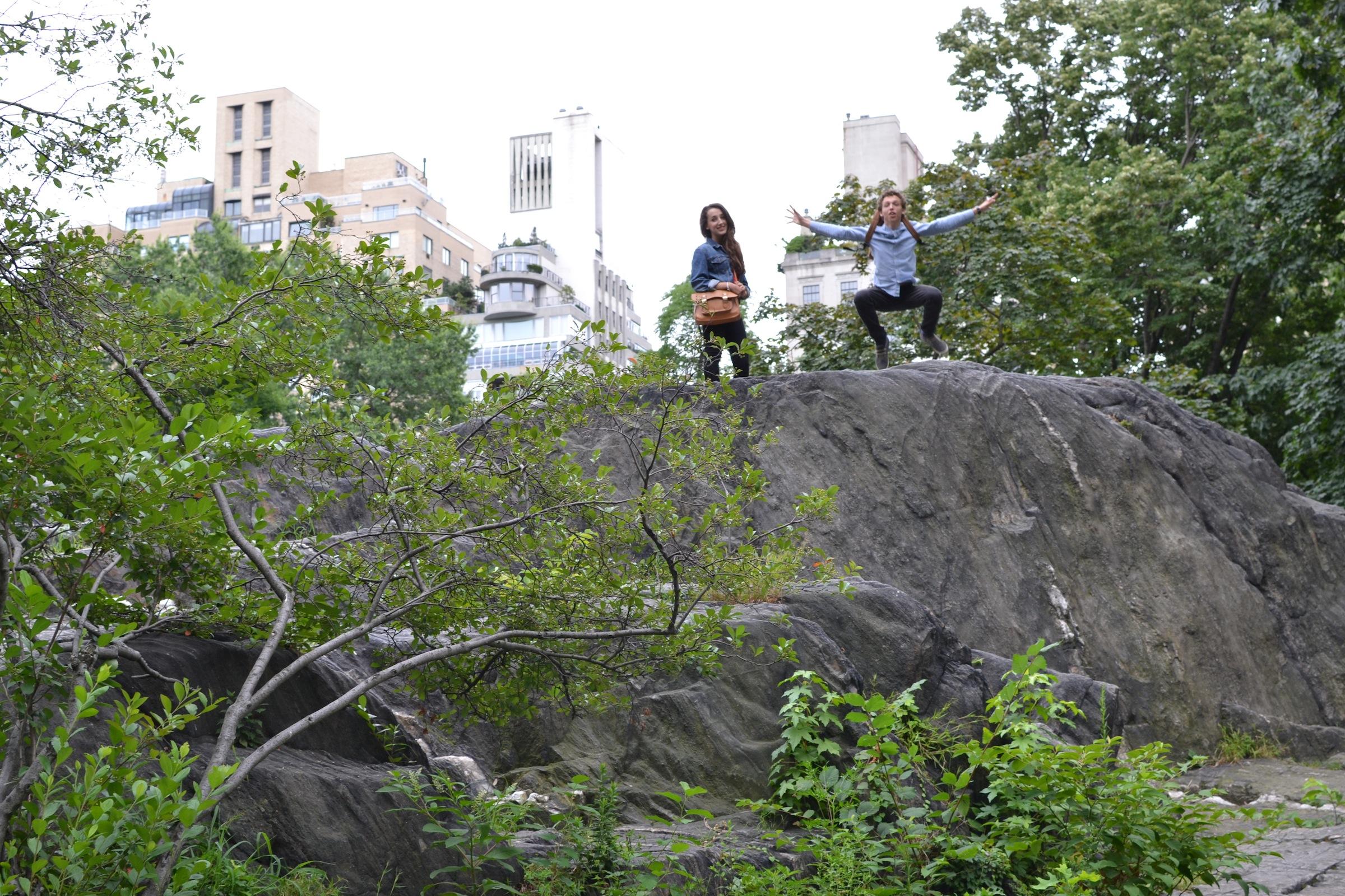 Levitating in Central Park
