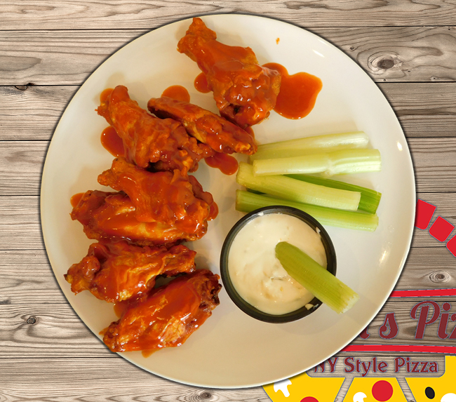 vivaldis pizza - buffalo wings delivery - CT