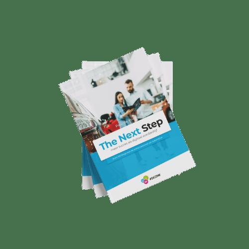 Boek: 'The Next Step', meer succes als digitaal autobedrijf