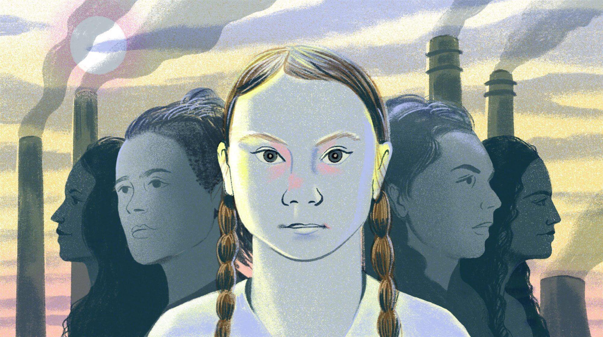 Грета Тунберг — символ движения, благодаря которому более 2 миллионов подростков по всему миру участвовали в школьных забастовках против изменения климата. Источник: Eleanor Taylor / nbcnews.com