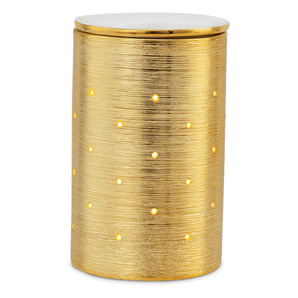 Etched Core Warmer - Gold