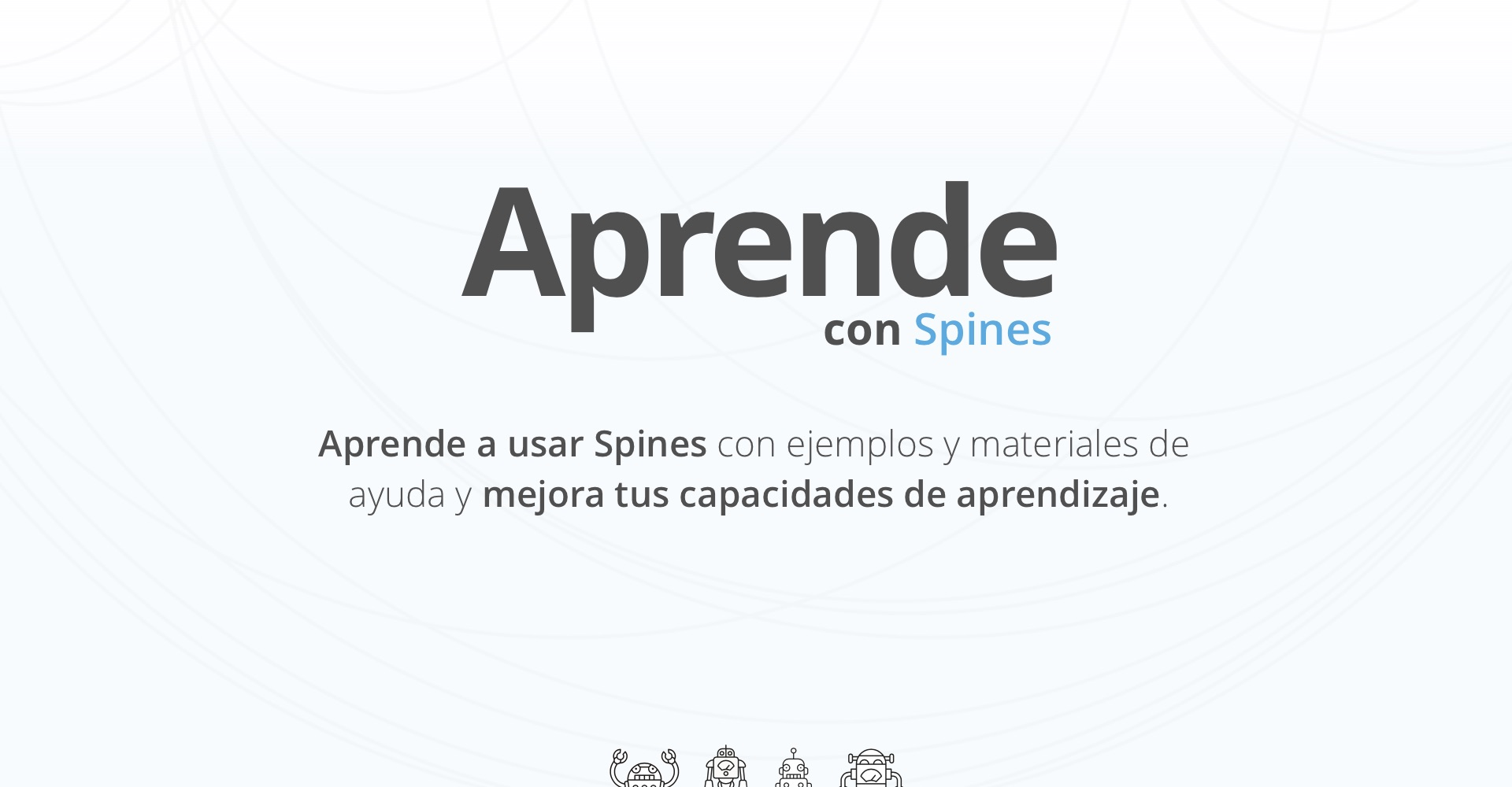 Aprende con Spines