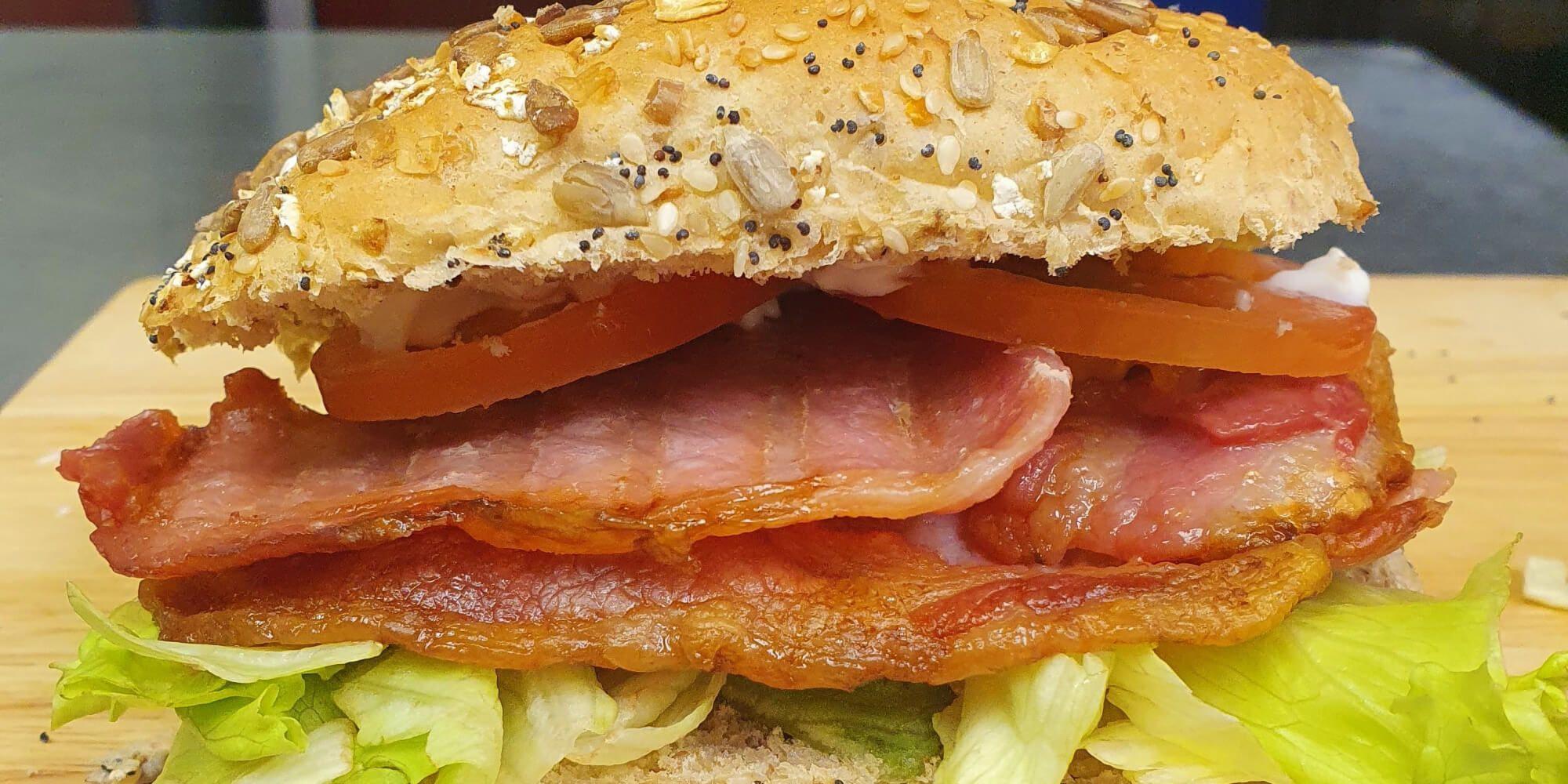 Bacon sandwich at Nosh