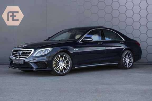 Mercedes-Benz S-Klasse 63 AMG S63 AMG Burmester + Massage + Suede Zwarte hemel + Gekoeld en Verwarmde stoelen + Nachtzicht
