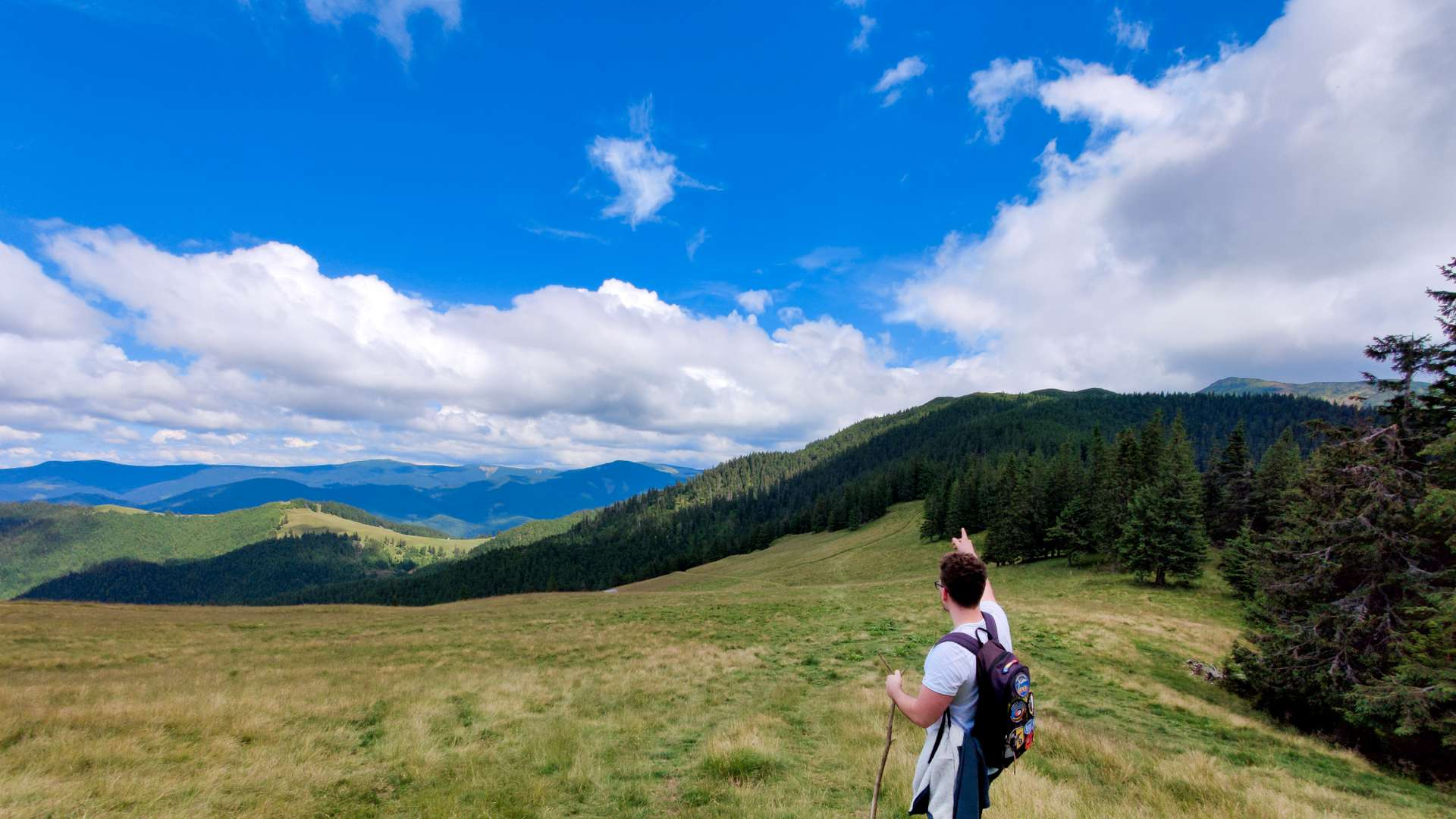 turist-munte colibita natura