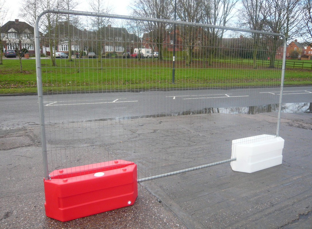 Red and White Roto Block Mini