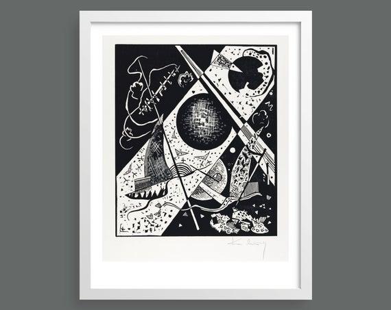 Small Worlds VI (Kleine Welten VI) by Vasily Kandinsky