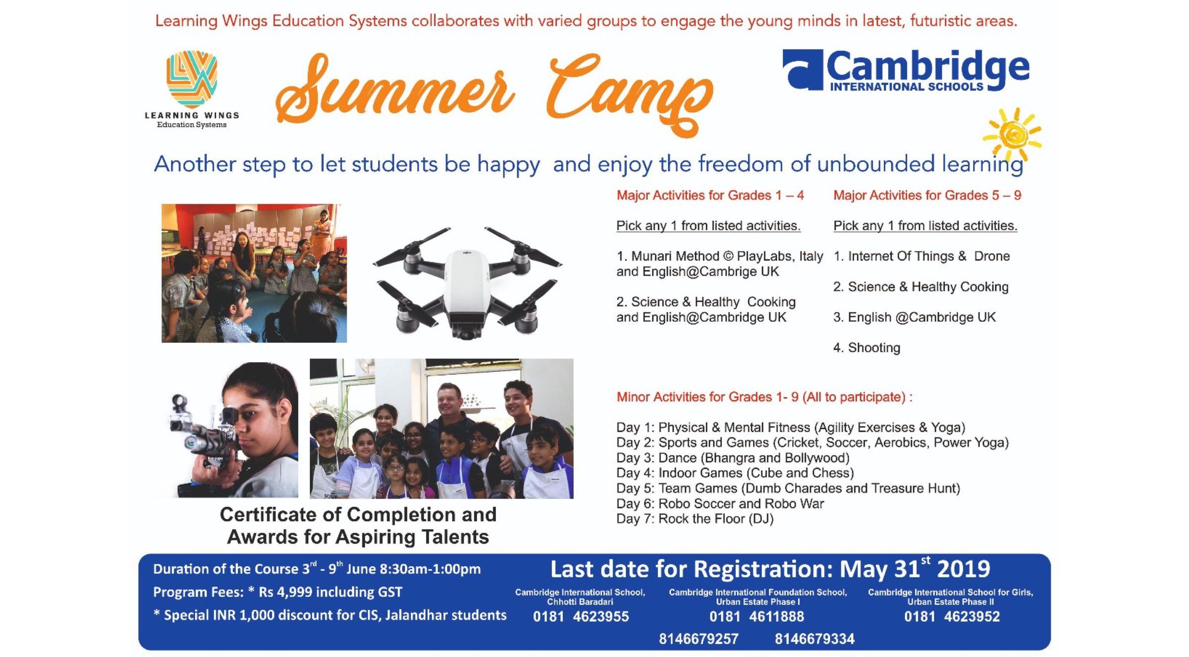 Summer camp 2019-20.