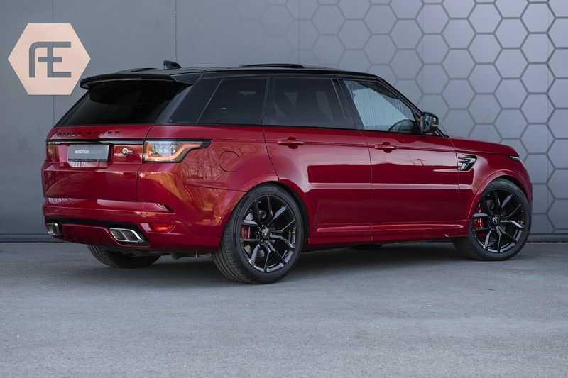 Land Rover Range Rover Sport SVR 5.0 V8 SC Meridian Reference Audio + Head Up + 360 Camera + Gekoelde/Verwarmde voorstoelen + Verwarmde  Achterbank + Carbon Motorkap Met Luchthappers + Ambianceverlichting afbeelding 7