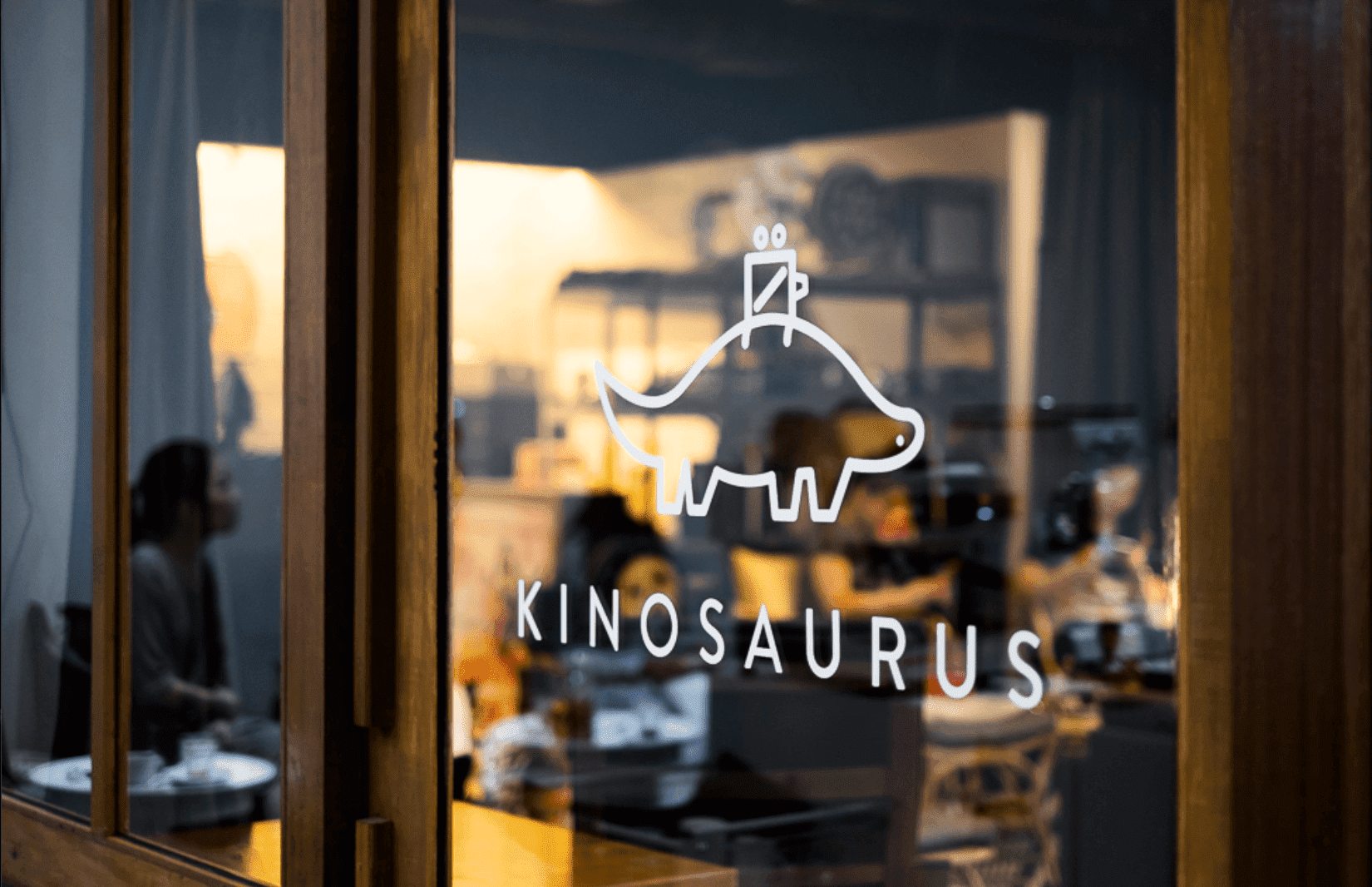 Logo created for Kinosaurus