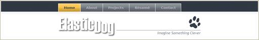 ElasticDog.com's Design from 2006