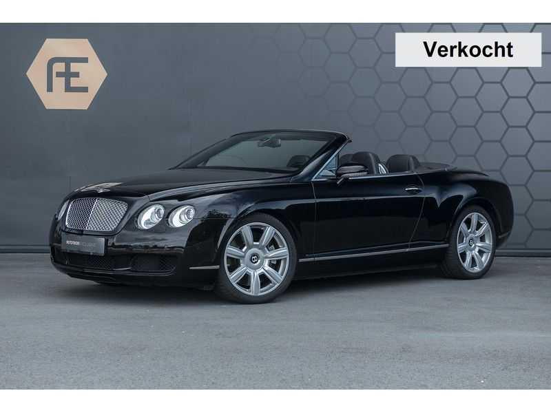Bentley Continental GTC 6.0 W12 + Dealer onderhouden + Excellent Condition afbeelding 1