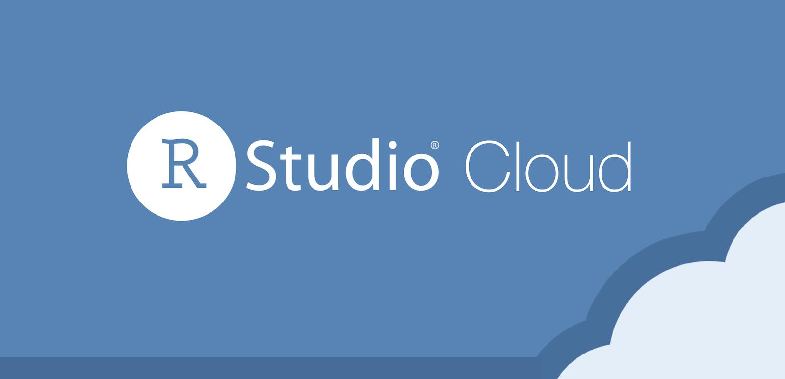 RStudio Cloud text logo