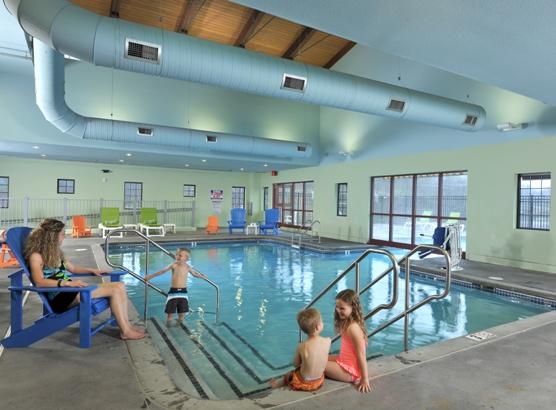 Indoor Outdoor Heated Pool