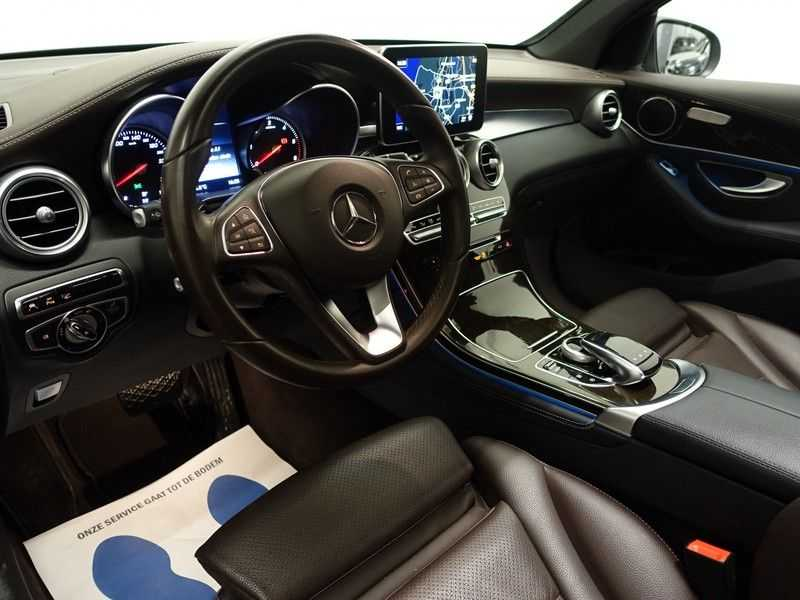 Mercedes-Benz GLC 250D 4MATIC 9G- AMG Sport Edition, Panoramadak, Leer, Full afbeelding 17