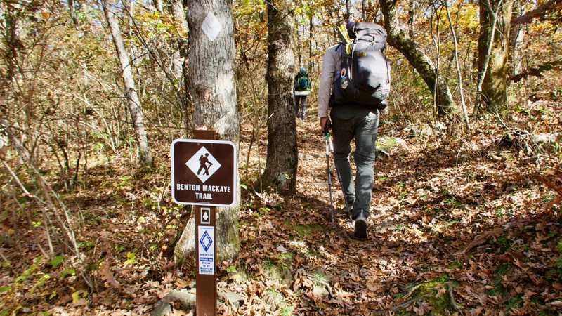 Starting on the Benton MacKaye Trail