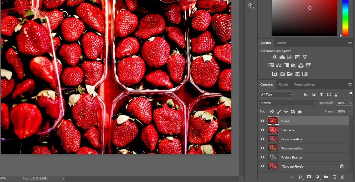 Funcionalidade photoshop camadas 02