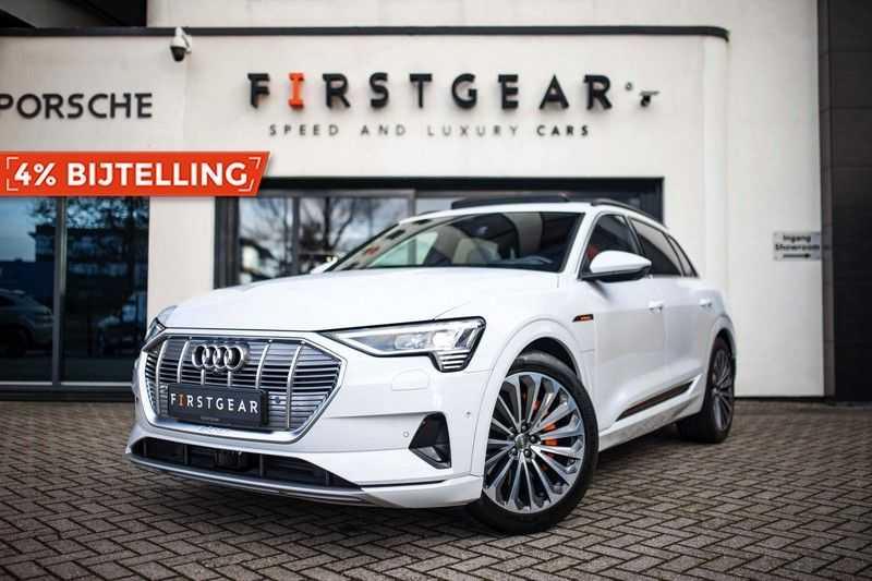 Audi e-tron 55 Quattro *Advanced / B&O / Pano / ACC / 4% Bijtelling €175,- P.M.* afbeelding 22