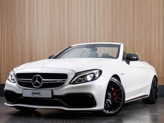 Mercedes-Benz C-Klasse C63 S AMG Cabrio AMG RIDE CONTROL, NIGHTPACK,