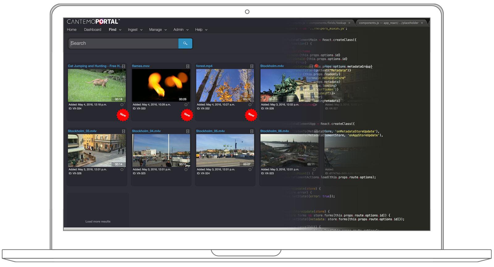 Cantemo Portal Web Based Easy Interface