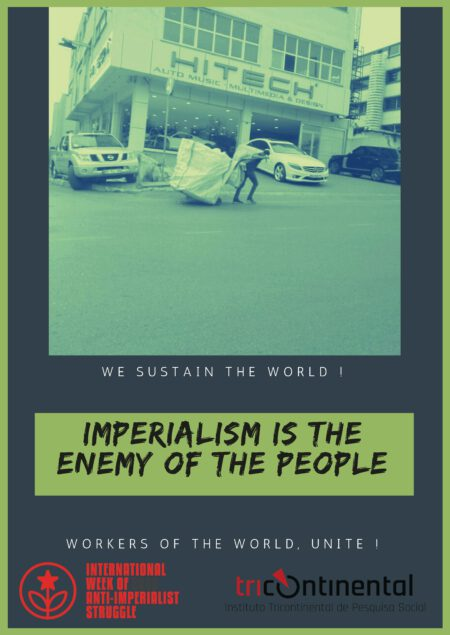 Imperialism is the enemy of the people