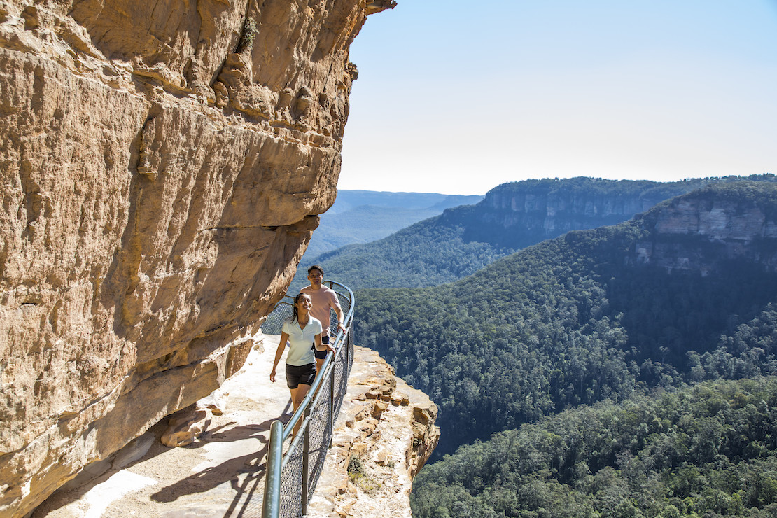 Blue Mountains National Park (credit: Destination NSW)