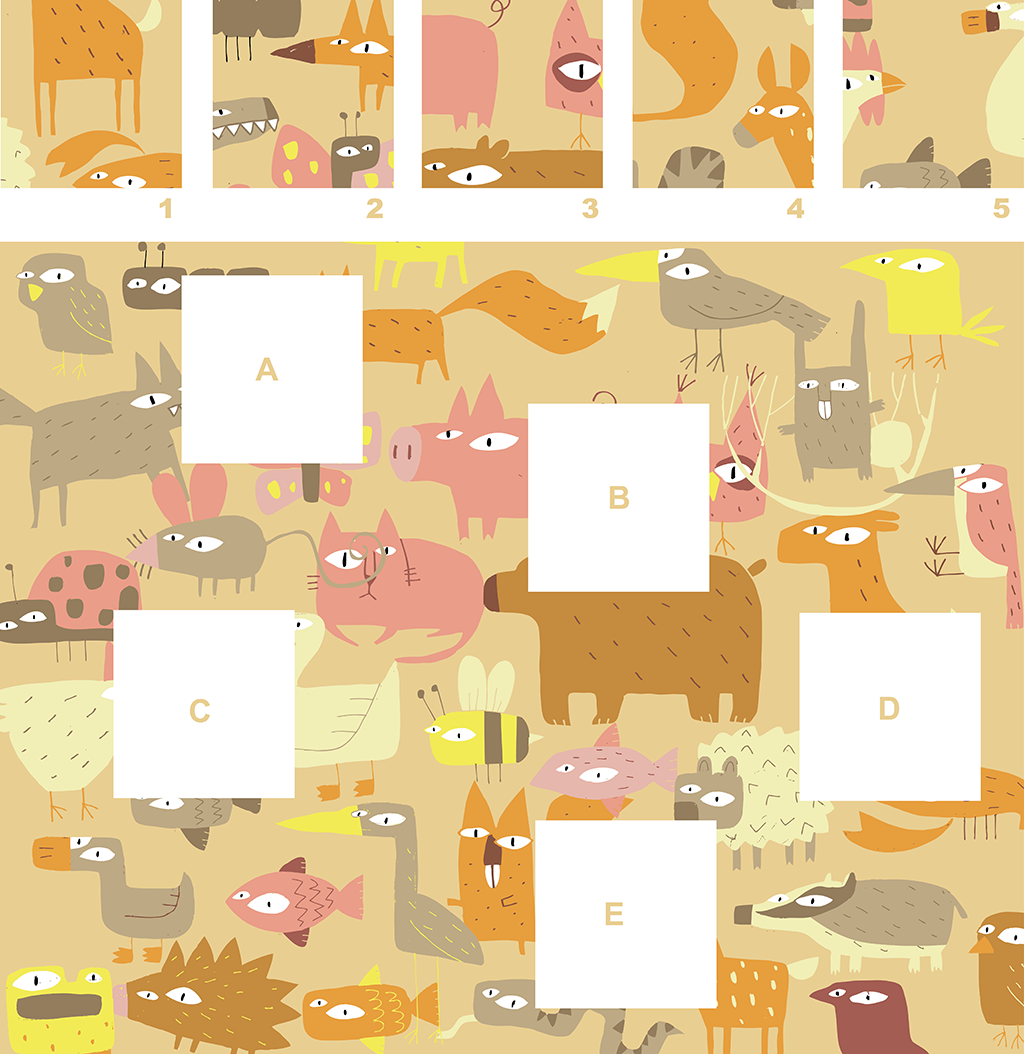Birds & Animals – A Visual Matching Puzzle