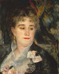 Marguerite Charpentier was a French salonist and art collector who was one of the earliest champions of the Impressionists, especially Pierre-Auguste Renoir.