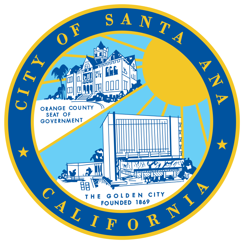 logo of City of Santa Ana