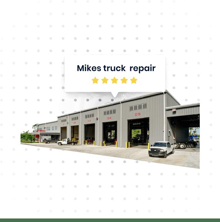 Truck repair shop in Fontana